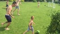 Buon sangue non mente, il figlio di Marek Hamsik segna un gran gol in partitella