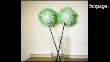 Come Realizzare Un Fiore Con I Bastoncini Di Ovatta: Una Decorazione Fai Da  Te Per La Casa Play 5441 U2022 Di TuttoTutorial