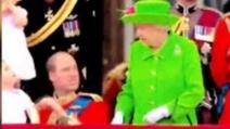 La Regina Elisabetta rimprovera il Principe William durante la cerimonia