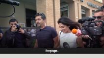 Virginia Raggi chiude la campagna elettorale a Ostia e fugge dai cronisti