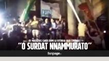 """De Magistris canta """"O surdato 'nnammurato"""" dopo la vittoria alle Comunali"""