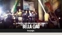 """De Magistris canta """"Bella ciao"""" dopo la vittoria alle Comunali"""