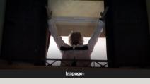 Raggi Sindaco di Roma, Grillo esulta dal balcone dell'Hotel Forum