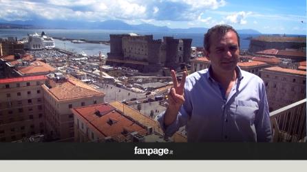 """De Magistris: """"Napoli deve tornare capitale, il nostro è un modello vincente"""""""