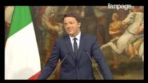 """Renzi commenta i risultati dei ballottaggi: """"Ha vinto il cambiamento, il Governo aiuterà tutti"""""""