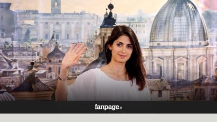 Festa a porte chiuse per Virginia Raggi e M5s al Teatro Flaiano
