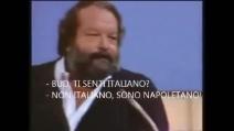 """Quando Bud Spencer disse: """"Stai parlando con un napoletano e non con un Italiano!"""""""