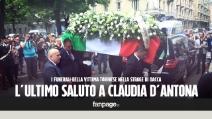 I funerali di Claudia D'Antona, vittima dell'Is a Dacca