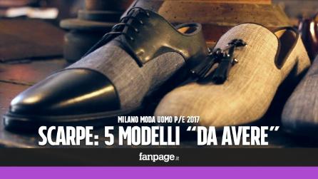 """Milano Moda Uomo, le scarpe per la P/E 2017: 5 modelli """"da avere"""""""