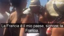 """Nizza, un uomo insulta una donna sulla Promenade: """"Devi tornare al tuo paese"""""""