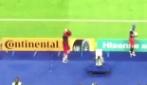 Il Portogallo segna e Ronaldo è da solo a bordo campo: ecco la sua reazione