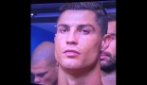 Le telecamere inquadrano Ronaldo ed ecco cosa fa CR7