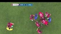 Portogallo-Francia, Cristiano Ronaldo in lacrime esce dal campo