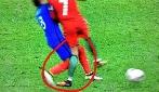 Il brutto fallo di Payet che ha messo fuori causa Ronaldo