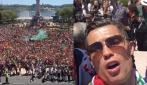 Portogallo campione d'Europa, il video selfie di Cristiano Ronaldo in patria