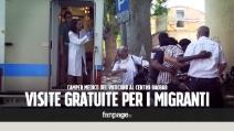 Camper medico del Vaticano al Baobab per visite mediche gratuite ai migranti