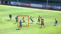 Juve, il primo gol di Pjanic in maglia bianconera è un gioiello