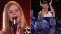 Ha solo 12 anni ma quando sale sul palco incanta lo studio: la sua performance è straordinaria