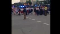 Monaco di Baviera, le persone vengono fatte uscire dal centro commerciale