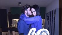 Nina Moric compie 40 anni e festeggia con Luigi Mario Favoloso