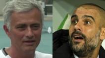 """""""Stringerai la mano a Guardiola?"""" Mourinho risponde nervosamente e spiazza tutti"""