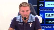 """Immobile riparte dalla Lazio: """"Pronto alla sfida"""""""