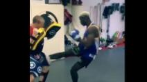 Pogba si allena: arti marziali per il campione francese