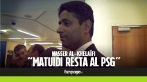 """Al-Khelaïfi: """"Girone difficile per il Psg"""". E su Matuidi glissa"""