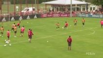 Che gol di Robert Lewandowski, classe infinita per l'attaccante del Bayern Monaco