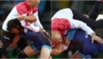 Rio 2016, la curiosa esultanza della lottatrice: vince l'oro e mette ko il coach