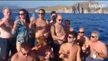 L'ultimo brindisi di Silvio, uno dei tre sub scomparsi durante un'immersione a Palinuro