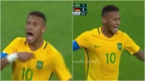 Rio 2016, Neymar segna e il Brasile si avvicina alla medaglia d'oro: l'esultanza travolgente