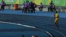 Usain Bolt lancia il giavelotto: proverà con una nuova specialità?