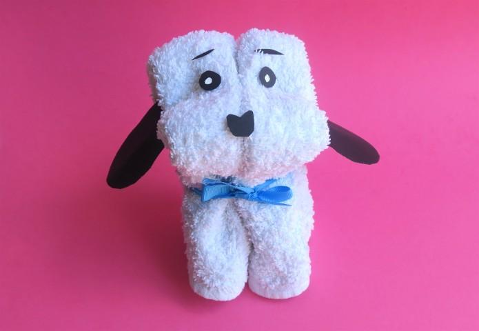 Come realizzare un cagnolino con un asciugamano for Animali con asciugamani