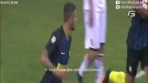 Icardi segna il pareggio contro il Palermo e non perde tempo a esultare