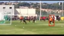 Primo allenamento di Balotelli con il Nizza: ed è subito gol