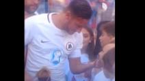 Roma-San Lorenzo: il bellissimo gesto di Francesco Totti emoziona tutti