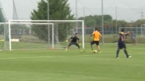 Juventus, Higuain in gol in partitella: il Pipita sembra ancora appesantito