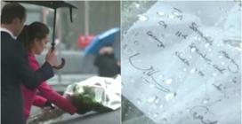 11 settembre, il tributo del principe William e di Kate: fiori e un messaggio al Memoriale