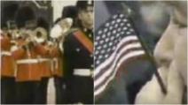 11 settembre, l'inno nazionale americano suonato a Buckingham Palace dopo gli attentati