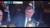 Derby di Manchester, perde lo United e Ferguson non la prende bene