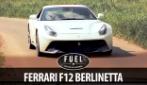 La bellezza della Ferrari F12 Berlinetta, un bolide spettacolare