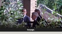 La morte di Ciampi, l'arrivo in clinica del presidente Mattarella