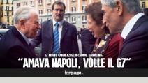 """Ciampi, l'ex sindaco Iervolino: """"Amava Napoli, fu lui a volere il G7"""""""