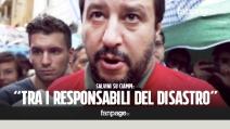 """Salvini su Ciampi: """"È tra i responsabili del disastro, ha svenduto la sovranità italiana"""""""