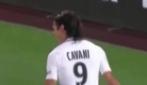 Cavani segna 4 gol in 34 minuti: le esultanze del Matador
