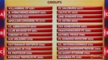 Europa League, urna benevola con Napoli, Inter, Fiorentina e Torino