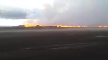 Islanda, erutta il vulcano Bardarbunga: fuoco e fiamme dal suolo