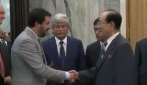 La missione di Razzi e Salvini in Corea del Nord