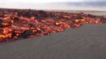 Iceland, l'eruzione del vulcano Bardarbunga del 31 agosto 2014
